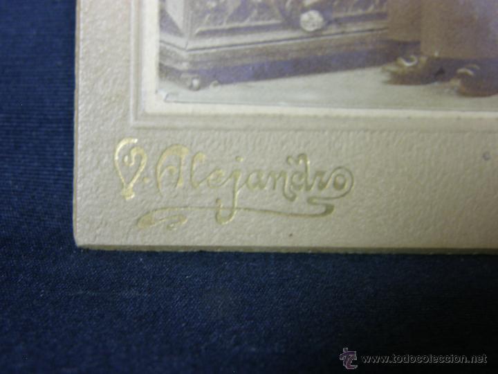 Fotografía antigua: niño monaguillo fotografo v. alejandro mayor 33 madrid 13x9cms - Foto 3 - 46664998