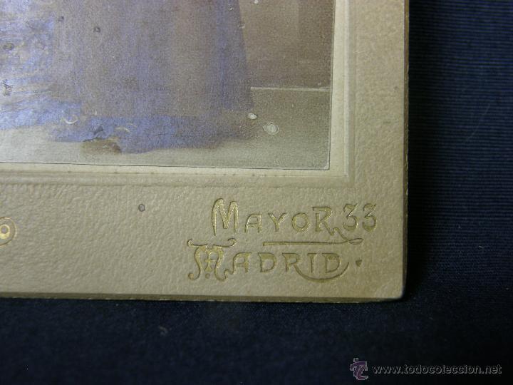 Fotografía antigua: niño monaguillo fotografo v. alejandro mayor 33 madrid 13x9cms - Foto 4 - 46664998