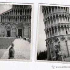 Fotografía antigua: PISA (ITALIA) - DOS FOTOS ANTIGUAS AÑO 1963. Lote 46738470