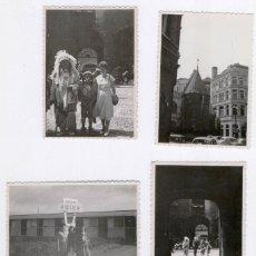 Fotografía antigua: BRUSELAS 1958 - 4 FOTOS ANTIGUAS. Lote 46738553