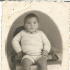 Fotografía antigua: ** K968 - FOTOGRAFIA - PRECIOSO BEBÉ - VITORIA 1939 - RF. G30. Lote 46848391