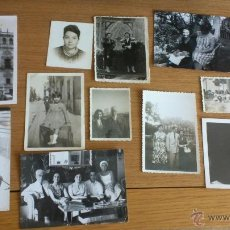 Fotografía antigua: GRAN LOTE DE VARIAS FOTOGRAFIAS ANTIGUAS , DIAPOSITIVAS Y POSTALES VARIAS .... . Lote 47014390