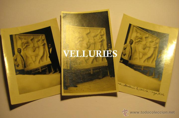 VICENTE BELTRAN GRIMAL (SUECA 1896 - VALENCIA 1963) ACADEMIA DE ROMA. LAS TRES HIJAS DEL SOL. (Fotografía - Artística)