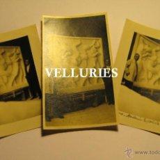Fotografía antigua: VICENTE BELTRAN GRIMAL (SUECA 1896 - VALENCIA 1963) ACADEMIA DE ROMA. LAS TRES HIJAS DEL SOL.. Lote 48264078