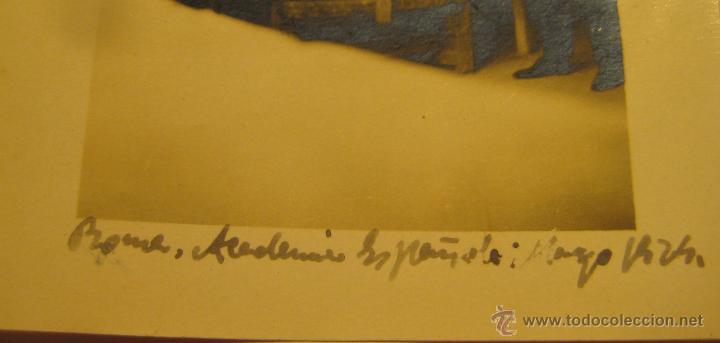 Fotografía antigua: VICENTE BELTRAN GRIMAL (SUECA 1896 - VALENCIA 1963) ACADEMIA DE ROMA. LAS TRES HIJAS DEL SOL. - Foto 3 - 48264078