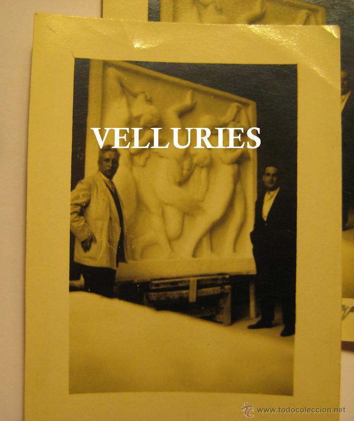 Fotografía antigua: VICENTE BELTRAN GRIMAL (SUECA 1896 - VALENCIA 1963) ACADEMIA DE ROMA. LAS TRES HIJAS DEL SOL. - Foto 5 - 48264078