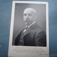 Fotografía antigua: RETRATO FOTOGRAFICO - DESCHIENS EDIT. ESPINA Y CAPO DOCTOR. Lote 47190305