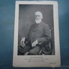 Fotografía antigua: RETRATO FOTOGRAFICO - DESCHIENS EDIT. - DOCTO HALLOPEAU , MEDICINA PARIS. Lote 47190852