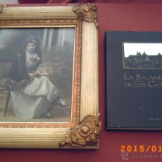 Fotografía antigua: ANTIGUA FOTO BELLA DAMA DE V. GOMBAU CON MARCO EPOCA Y LIBRO LA SALAMANCA DE LOS GOMBAU-S.XIX PP.XX. Lote 47260693