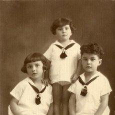 Fotografía antigua: FAMILIA CASTELLARY, 1925. Lote 47351154