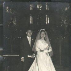 Fotografía antigua: PALMA DE MALLORCA - FOTO: PLANAS - BODA 1958. Lote 47519611