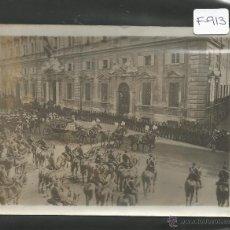 Fotografía antigua: CHARLES DELIUS-PARIS-FOTOGRAFIA MILITAR PRINCIPIOS SIGLO XX-SELLO EN EL REVERSO-12X16 CM-(F-913). Lote 47536445