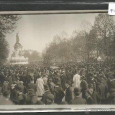 Fotografía antigua: M. BRANGER -PARIS -FOTOGRAFIA PRINCIPIOS SIGLO XX -SELLO EN EL REVERSO Y TEXTO -13X18 CM-(F-961). Lote 47537187