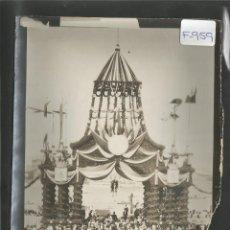 Fotografía antigua: M. BRANGER -PARIS -FOTOGRAFIA PRINCIPIOS SIGLO XX -SELLO EN EL REVERSO Y TEXTO -13X18 CM-(F-959). Lote 47537512