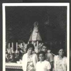 Fotografía antigua: VIRGEN DE COVADONGA - ASTURIAS. Lote 47692437