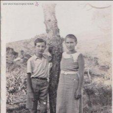 Fotografía antigua: F- 158. ANTIGUA FOTOGRAFIA NIÑOS. AÑO 1935.. Lote 47847220