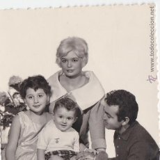 Fotografía antigua: F- 168. FOTOGRAFIA FAMILIA AÑOS 60.. Lote 47848157