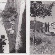 Fotografía antigua: F- 172. LOTE 2 FOTOGRAFIAS CANET DE ADRI. AÑO 1964.. Lote 47848238