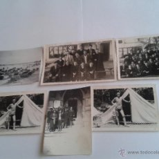 Fotografía antigua: LOTE DE 6 FOTOGRAFIAS ANTIGUAS, AÑOS 60. Lote 47998841