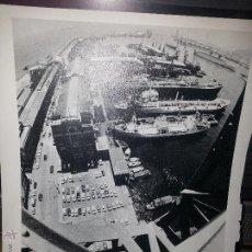 Fotografía antigua: PUERTO DE BARCELONA. Lote 48563407