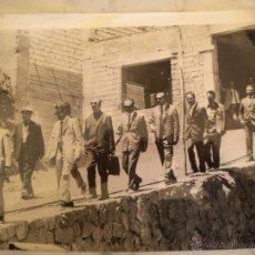Fotografía antigua: FOTOGRAFIA DE 15 MAFIOSOS EN SICILIA 31-5-1971 UNITED PRESS EUROPIX.. Lote 48581749