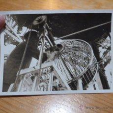 Fotografía antigua: ANTIGUA FOTOGRAFIA ORIGINAL DE PRENSA DE FRANCIA, CON EXPLICACION DE DIARIO, 1939. Lote 48726459