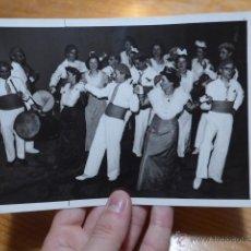 Fotografía antigua: ANTIGUA FOTOGRAFIA ORIGINAL DE PRENSA DE FRANCIA, CON EXPLICACION DE DIARIO. Lote 48726483