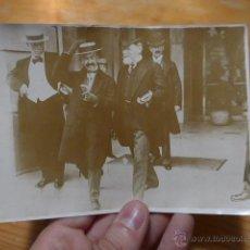 Fotografía antigua: ANTIGUA FOTOGRAFIA ORIGINAL DE PRENSA DE FRANCIA, FINALES S.XIX O PRINCIPIOS S.XX. Lote 48726495