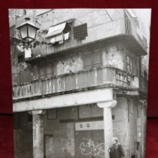 Fotografía antigua: FOTOGRAFIA DE LOS AÑOS 60. AUTOR ANONIMO. VISTA DE UNA FACHADA. MEDIDAS 23 CM. X 17,2 CM.. Lote 48912513
