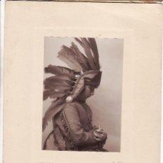 Fotografía antigua: FOTOGRAFÍA DE LA HIJA MAYOR DEL PINTOR JULIO VILA PRADES POR WILLY KOCH -AÑOS 1910-. Lote 49215790