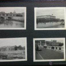 Fotografía antigua: BONITO REPORTAJE FOTOGRAFICO DE ROMA - ALBUM CON 17 FOTOS DE 10,5 X 7,5 CM - AÑOS 50-60 - . Lote 49341227