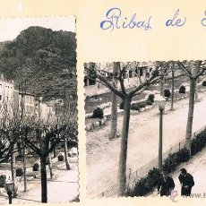 Fotografía antigua: RIBAS DE FRESER. Lote 49430224