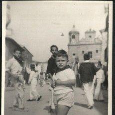 Fotografía antigua: CORELL - FIESTAS 1961. Lote 49526816