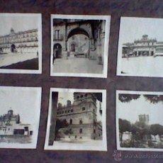 Fotografía antigua: LOTE 6 FOTOS 6 CMS PEGADAS CARTULINA SALAMANCA 1926 . Lote 50271152