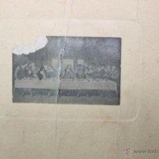 Fotografía antigua: FOTO RECORDATORIO MODERNISTA 1920 CAPILLA DE LAS RELIGIOSAS DE LA SAGRADA FAMILIA, DE BARCELONA. Lote 50694557