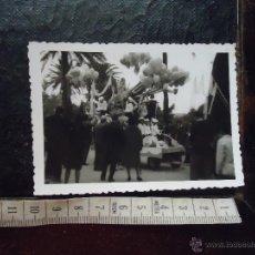 Fotografía antigua: ANTIGUA FOTOGRAFIA CARNAVAL DE CADIZ . Lote 50696280