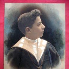 Fotografía antigua: FOTOGRAFIA NAPOLEÓN - FIRMADA Y COLOREADA - 1910 - 1915 . Lote 50772482