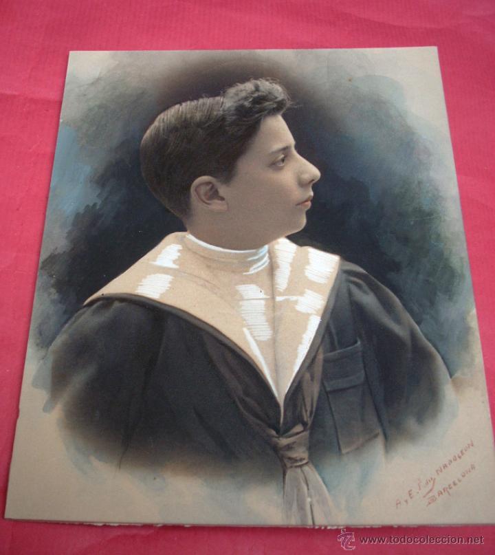 Fotografía antigua: FOTOGRAFIA NAPOLEÓN - FIRMADA Y COLOREADA - 1910 - 1915 - Foto 4 - 50772482