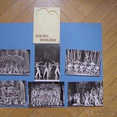 Fotografía antigua: RECUERDO TURÍSTICO: 6 FOTOGRAFÍAS FOLIES-BERGÈRE (PARÍS, 1960-70'S) ¡ORIGINALES! COLECCIONISTA. Lote 50861475