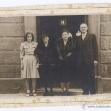 Fotografía antigua: ANTIGUA FOTO FAMILIAR - FOTOS MATEO HIJO (BARCELONA). Lote 50967025