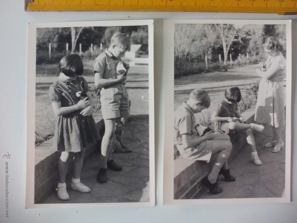 Lote De 2 Fotografias Antiguas De Los Anos 50 Comprar Fotografia