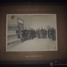 Fotografía antigua: ESTACION ENOLOGICA DE VILAFRANCA DEL PANADES - FOTO J. FONT - FOTO MIDE 16 X 21 CM - (V-13.906). Lote 51152153