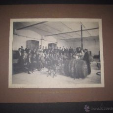 Fotografía antigua: ESTACION ENOLOGICA DE VILAFRANCA DEL PANADES - AÑO 1922 - FOTO MIDE 16 X 21 CM - (V-13.907). Lote 51152189
