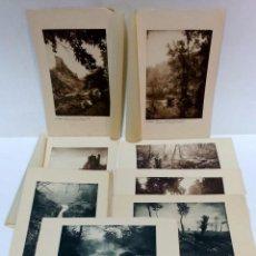 Fotografía antigua: COLECCION 8 ANTIGUAS FOTOGRAFIAS EN CARTULINA. EN LIMOUSIN. VER DESCRIPCION. Lote 51152229