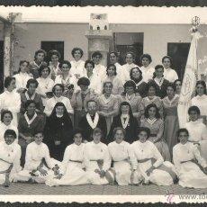 Fotografía antigua: TENERIFE - FOTO: A. BENITEZ - ALUMNAS COLEGIO RELIGIOSO. Lote 51217535