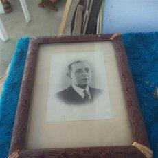 Fotografía antigua: RETARAO DE UN HOMBRE Y LUSTRE EN ESPAÑA. Lote 51412039
