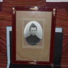 Fotografía antigua: PRECIOSA FOTOGRAFIA RETRATO DE SEÑORA, FOTOGRAFO PAVON, SEVILLA. SOBRE EL 1900.. Lote 51636225