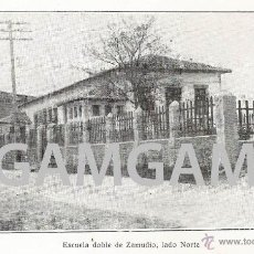 Fotografía antigua: ZAMUDIO ESCUELA AÑO1929 (REFAA2) . Lote 51645091