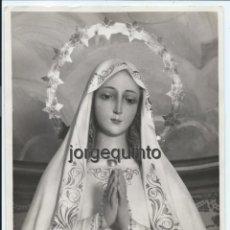 Fotografía antigua: FOTOGRAFÍA. VIRGEN DE FÁTIMA. 18 X 24,4 CMS. MURCIA, FOTÓGRAFO DESCONOCIDO.. Lote 51781420