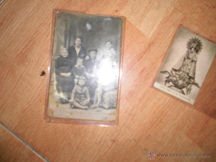 ANTIGUA FOTO POSTAL NIETO CALLE SEVILLA FAMILIA ALICANTE (Fotografía - Artística)